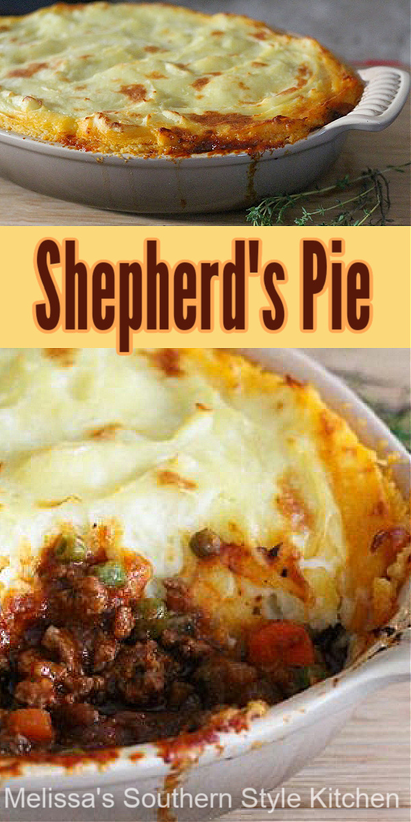 Shepherd's Pie is a perfectly delicious entree for any meal #shepherdspie #easygroundbeefrecipes #casseroles #beef #dinnerideas #shepherdspie #cottagepie #Irishfood #stpatricksday