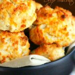Cheddar Ranch Drop Biscuits