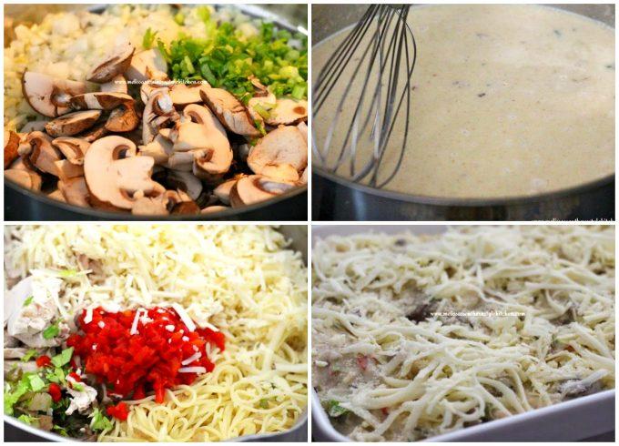 how to make chicken spaghetti