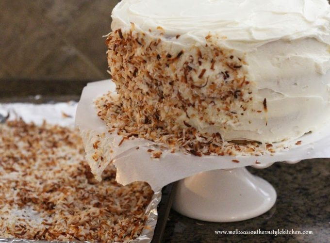 Melissa S Southern Style Kitchen Coconut Cream Cake