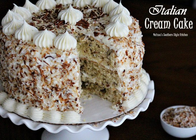 Melissa Southern Style Kitchen Coconut Cream Cake