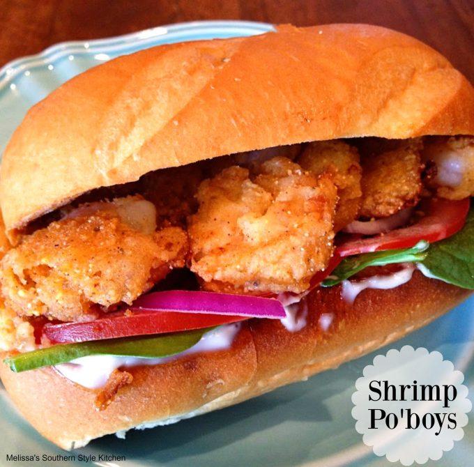Shrimp Po'Boys by Krystal Keith