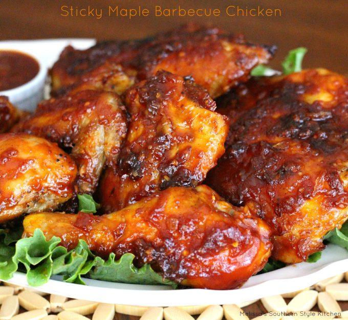 Sticky Maple Barbecue Chicken ...