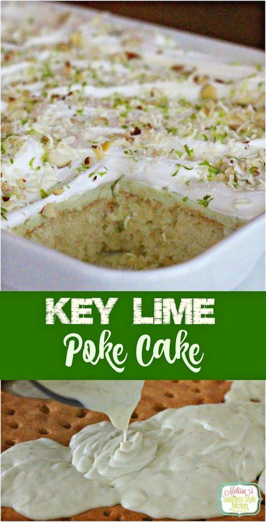 Key Lime Poke Cake