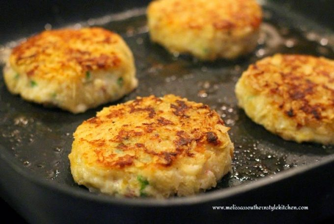 Remove to a platter and keep warm while frying all of the potato cakes ...
