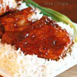 Recipe for Peach Glazed Pork Chops