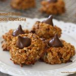 Caramel Rum Macaroon Cookies
