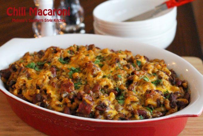 Chili Macaroni – Everyone needs dishes like this chili mac in their ...