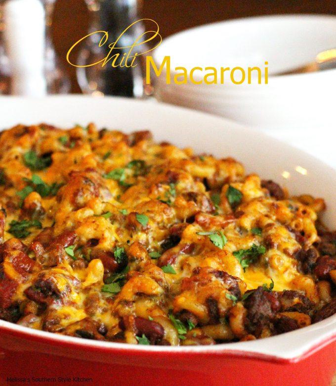 Chili Macaroni