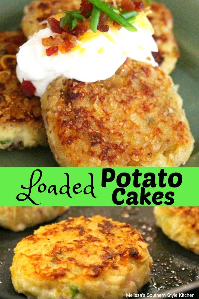 Loaded Potato Cakes