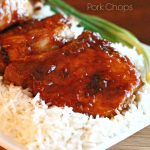 Peach Glazed Pork Chops