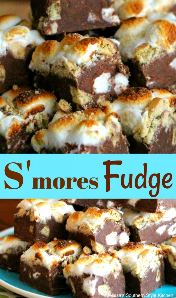 S'mores Fudge
