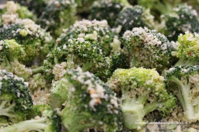 Roasted Panko Parmesan Broccoli