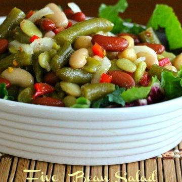 5 Bean Salad Recipe