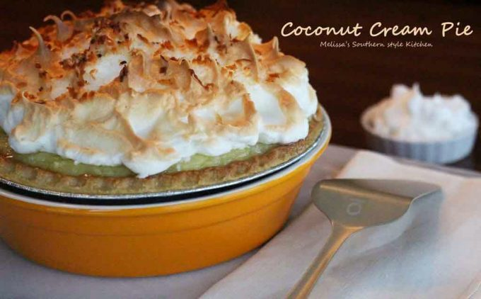 Melissa Southern Style Kitchen Coconut Cream Cake