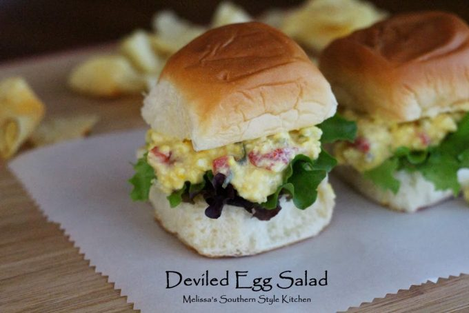 Deviled Egg Salad - melissassouthernstylekitchen.com