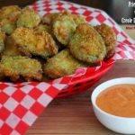 Fried Dill Pickles with a Creole Dipping Sauce