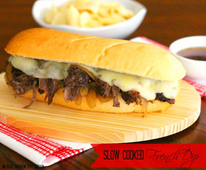 Slow Cooked French Dip