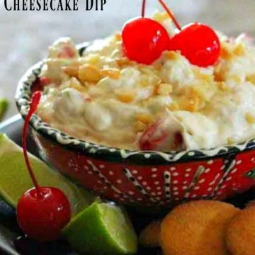Tropical Cheesecake Dip Recipe
