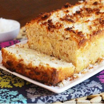 Hawaiian Pineapple Coconut Loaf