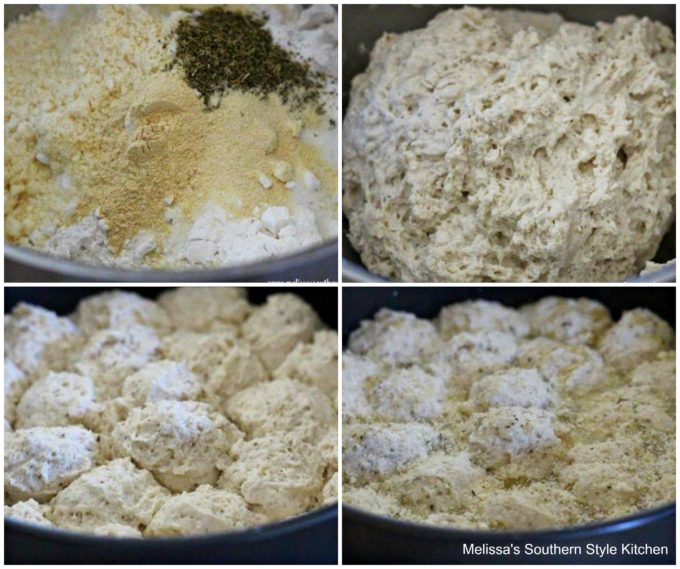 Step-by-step images and ingredients for Italian Herb Beer Bread
