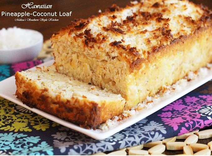 Hawaiian Pineapple-Coconut Loaf