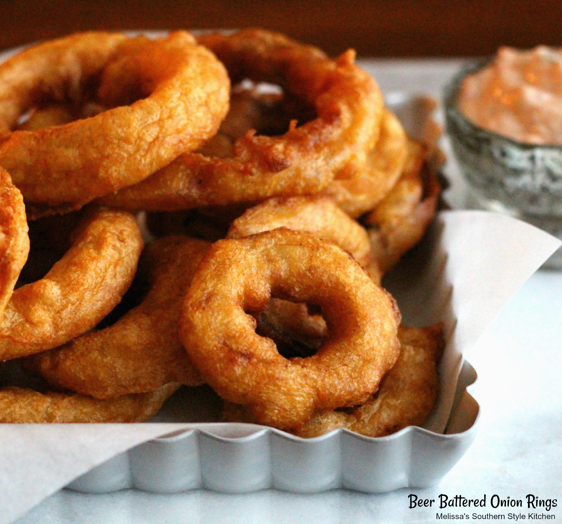 plated onion rings
