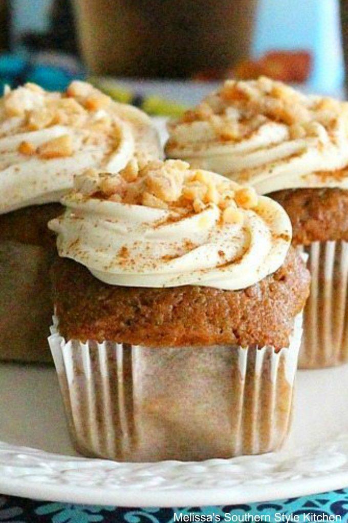 Cinnamon Caramel Macchiato Cupcakes