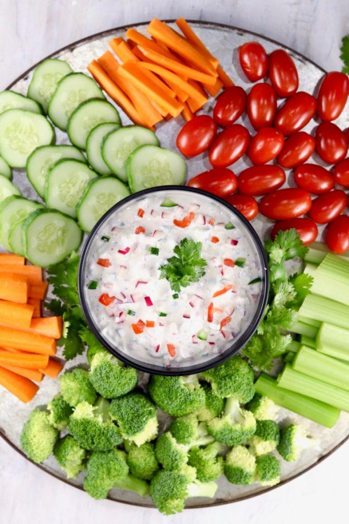 Chunky-Vegetable-Dip