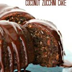 Double Chocolate Coconut Zucchini Cake