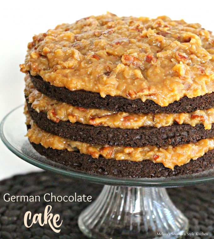 CoconutPecan Icing And German Chocolate Cake