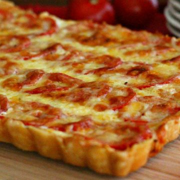 Recipe Plum Tomato Tart