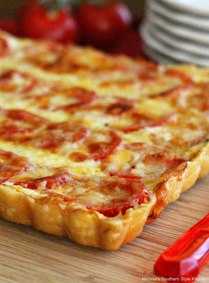 Plum Tomato Tart