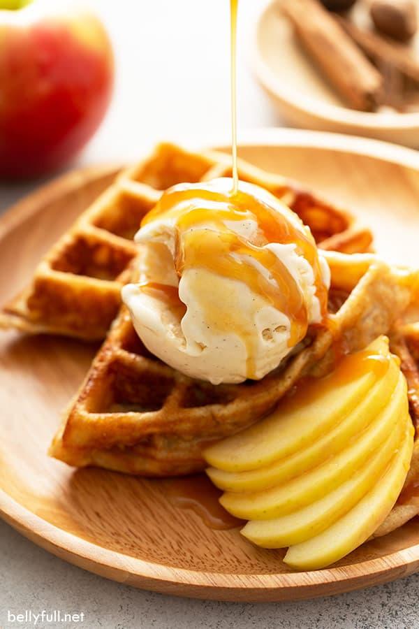 Apple-Pie-Waffles