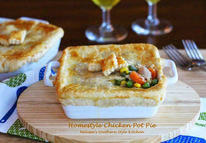 Homestyle Chicken Pot Pie For Two