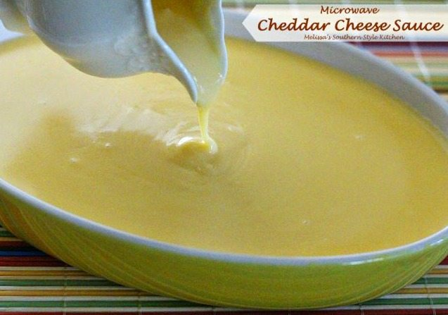 Microwave Cheddar Cheese Sauce