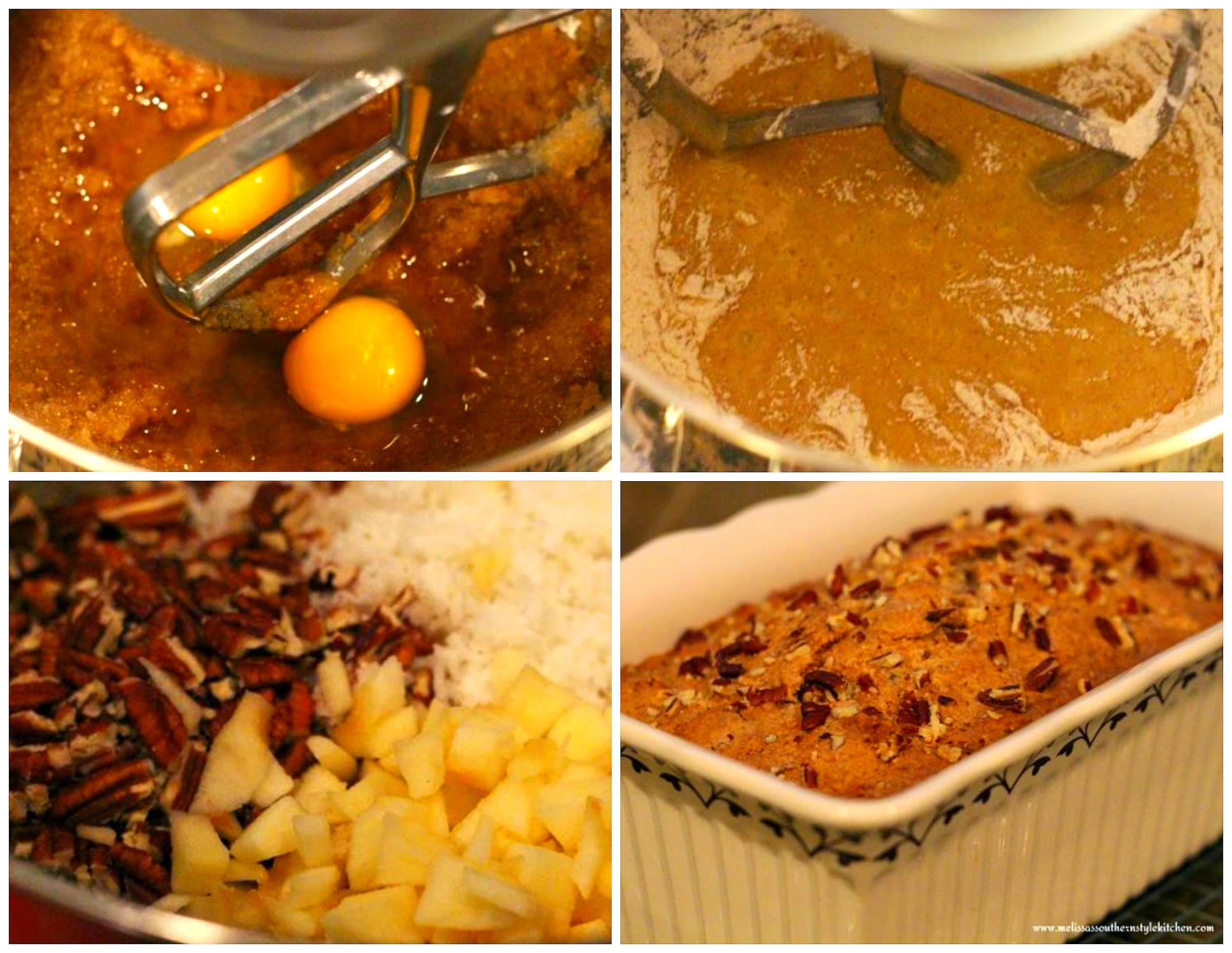 Harvest Apple Bread ingredients