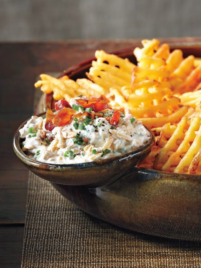 Loaded Baked Potato Dip - melissassouthernstylekitchen.com