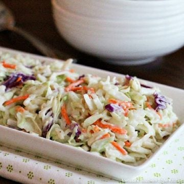 Southern style Homestyle Cole Slaw Dressing