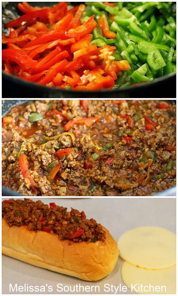 ingredients-to-make-Italian-loose-meat-hoagies