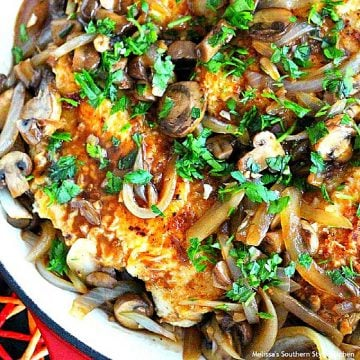 skillet-chicken-with-balsamic-mushrooms-onions