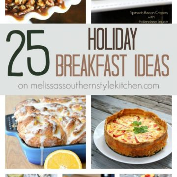 25 Holiday Breakfast Ideas