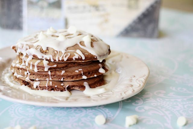 Brownie-Pancakes-with-White-Chocolate-Chips