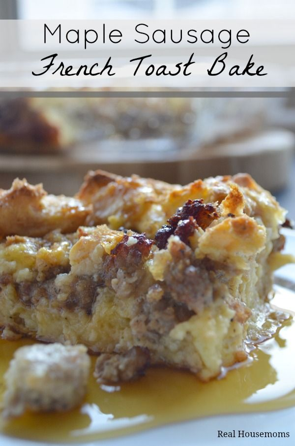 Maple-Sausage-French-Toast-Bake