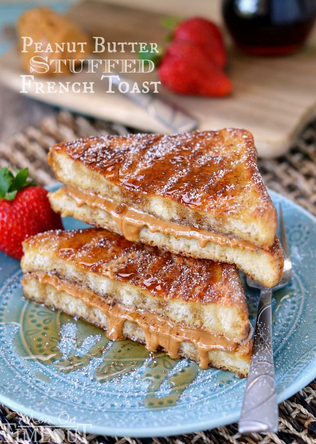 Peanut Butter Stuffed French Toast from Mom On Timeout