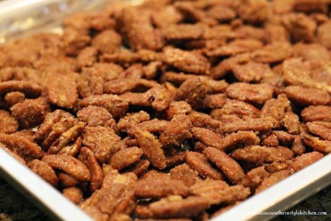 Candied Cinnamon Sugar Pecans
