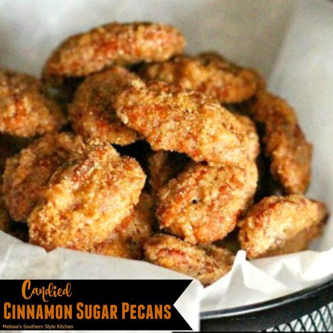 packaged Candied Cinnamon Sugar Pecans