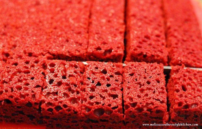 Red Velvet White Chocolate Cheesecake Trifle