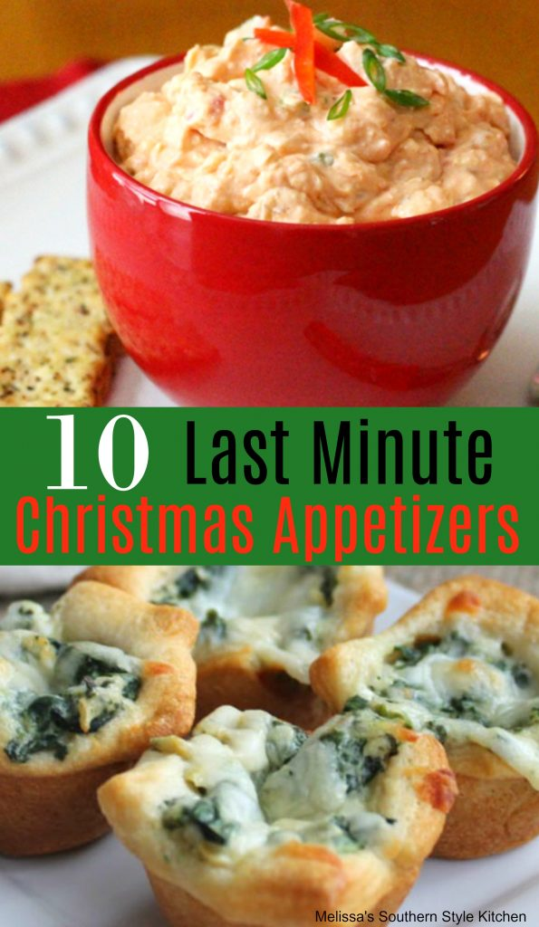 10 Easy Last Minute Christmas Appetizers