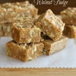 Brown Sugar-Walnut Fudge